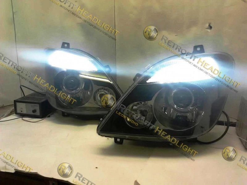 Бисветодиодные фары Mercedes Sprinter 906 06-13