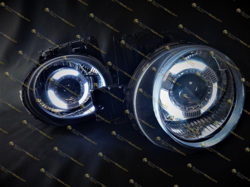 Бисветодиодные фары Nissan Juke 2011-