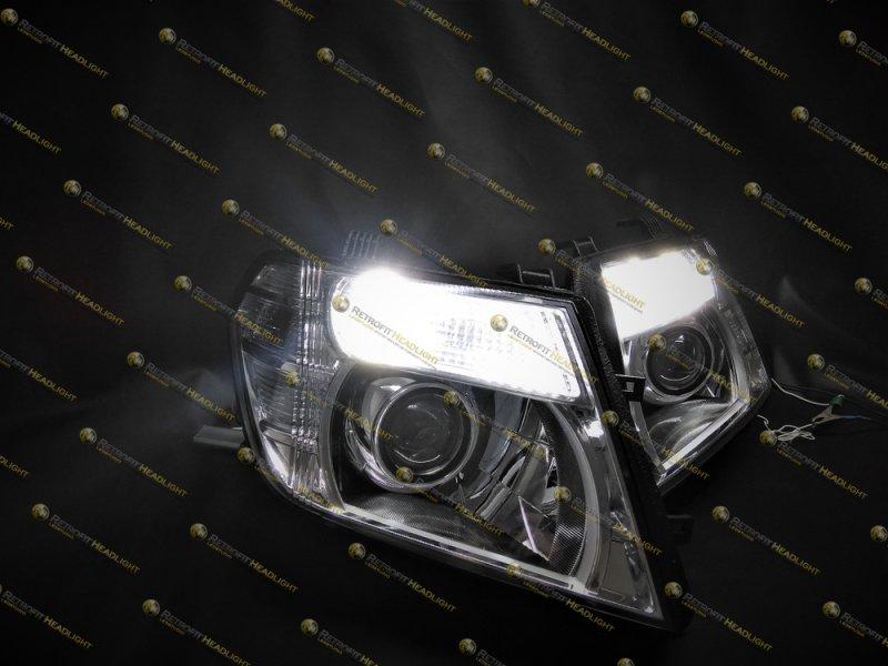 BiLed фары Nissan Pathfinder R51