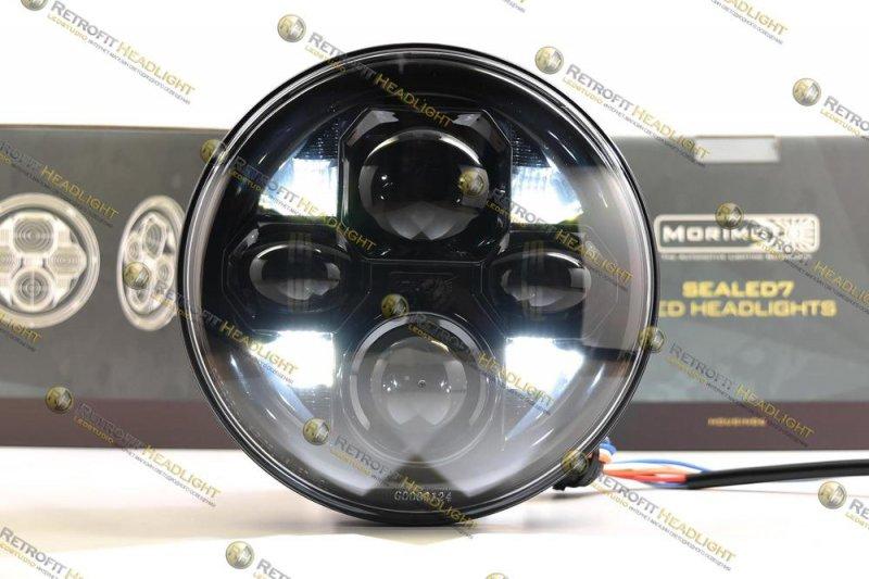 Бисветодиодные фары Sealed7 для Hummer H2