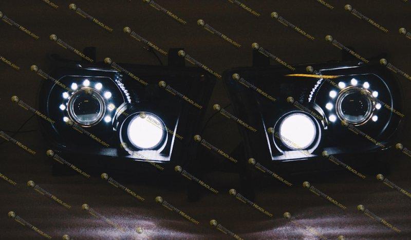 Бисветодиодные фары Toyota Sequoia Spider