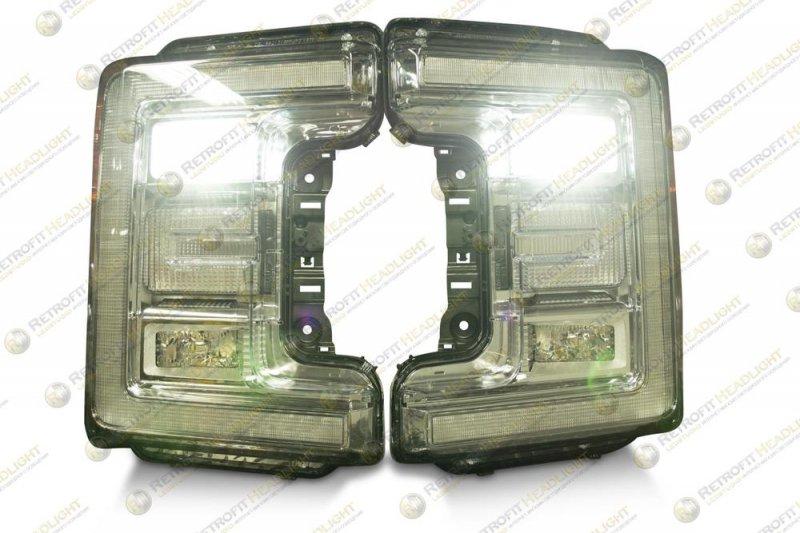 Светодиодные фары Ford Super Duty