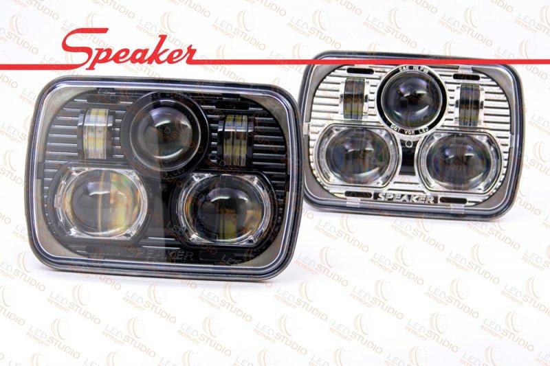 СВЕТОДИОДНЫЕ ФАРЫ JW SPEAKER 8900 BI-LED HEADLIGHTS
