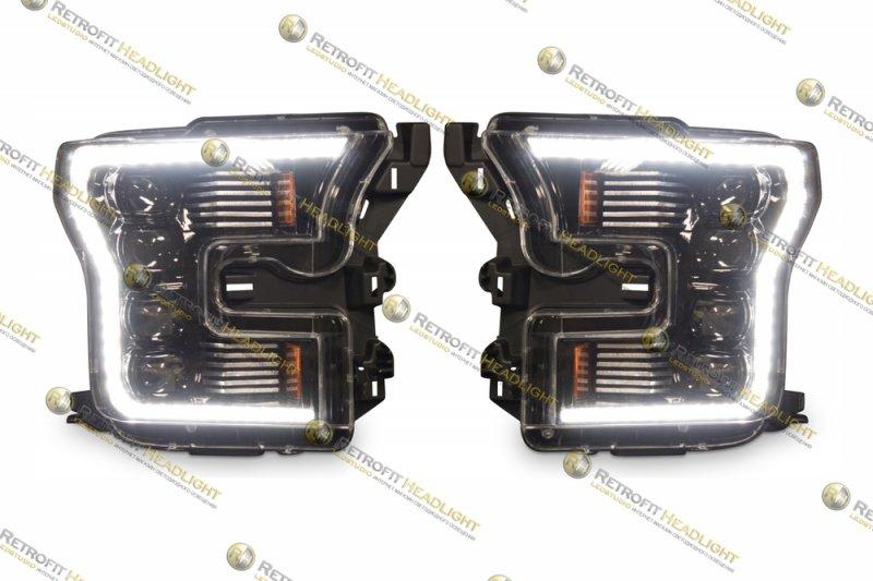 QBiLed Бисветодиодные фары Ford F150 15-17
