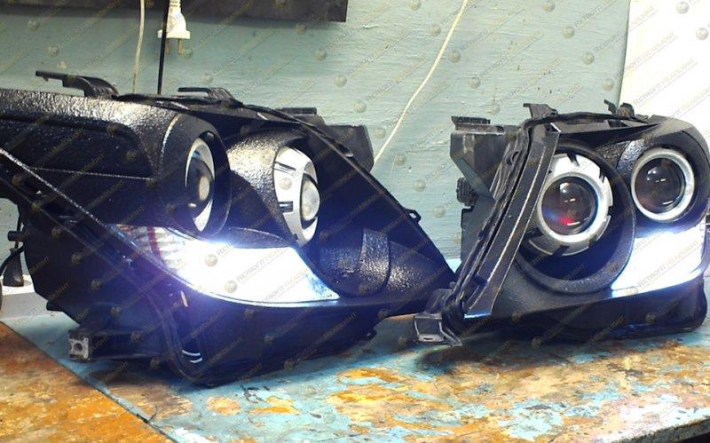Светодиодные фары Lexus LX 570