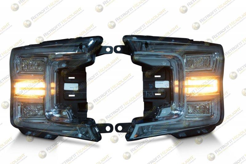 Светодиодные фары Ford F150 18-