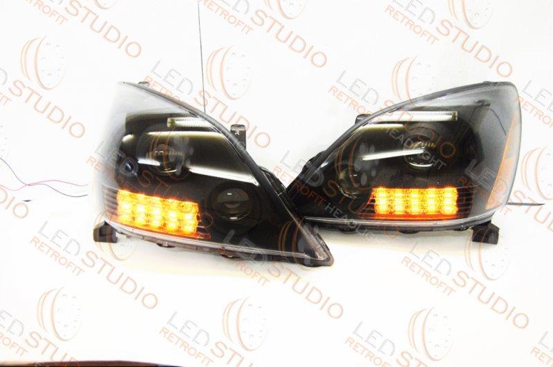 Биксеноновые фары Lexus GX470 02-