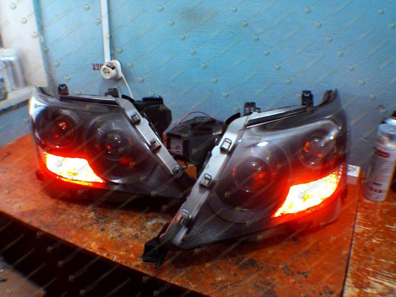 Светодиодные фары Lexus LX 570 08-12