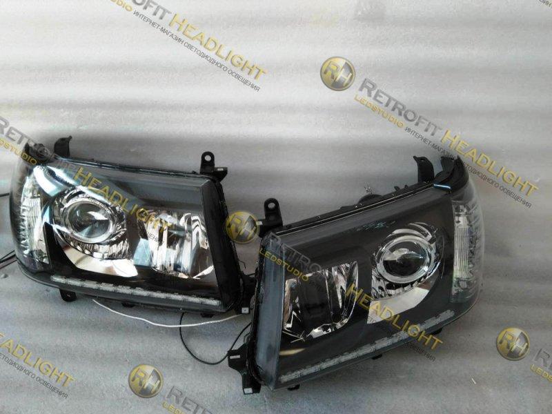 Бисветодиодные фары Toyota Land Cruiser 100 06-
