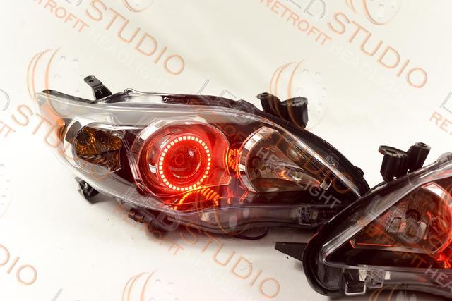 Биксеноновые фары для автомобилей Toyota Corolla 150 «ledstudio.org»