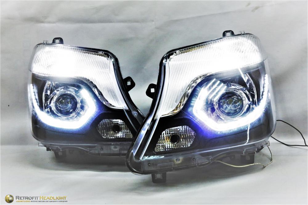 Установка Ангельских Глазок стиль BMW