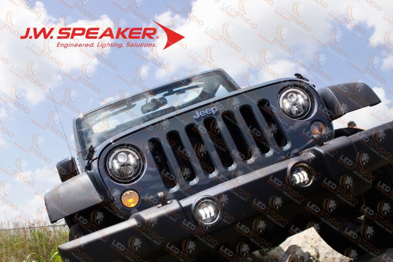 Установочный нобор JW Speaker для замены оптики Jeep Wrangler