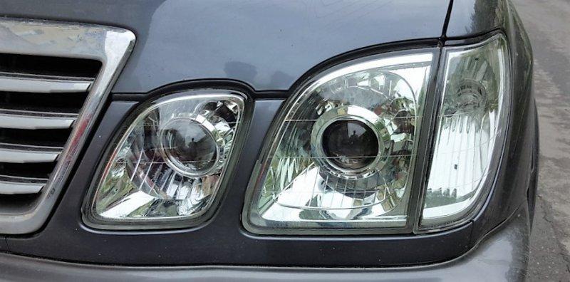Бисветодиодные фары Lexus LX 470 98-07