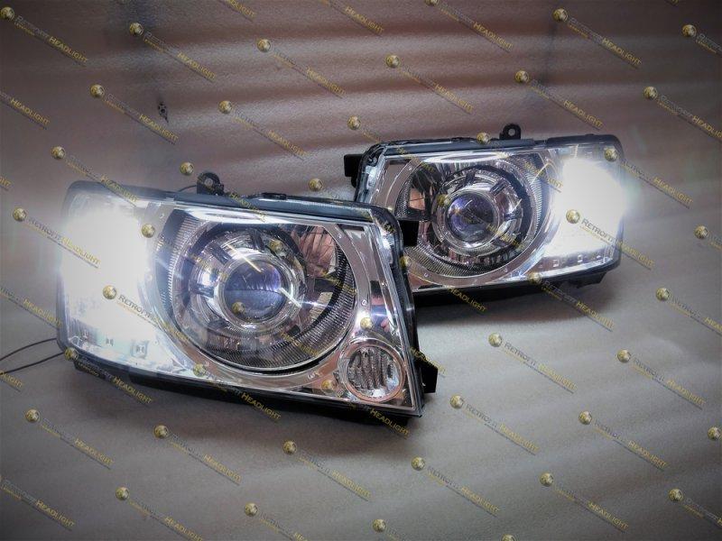 Светодиодные фары Nissan Patrol GR Y61
