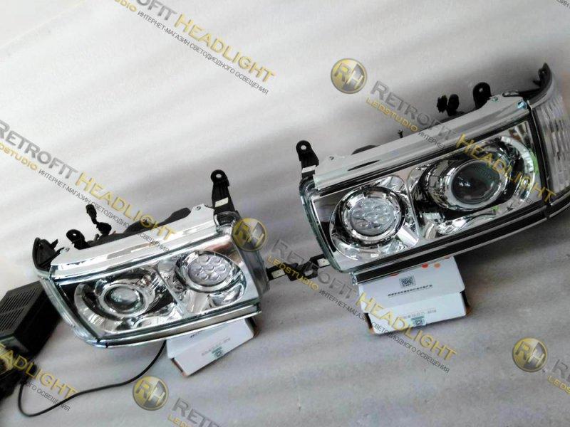 светодиодные фары Toyota Land Cruiser 80