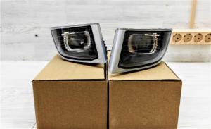 Автомобильные светодиодные матричные противотуманные фары Toyota Land Cruiser Prado 120 (2002-2009) LEDSTUDIO