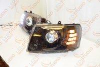 Бисветодиодные фары Nissan Patrol GR Y61 05-