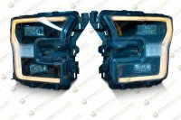 Светодиодные фары Ford F150 15-17
