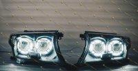 Bi Led светодиодные фары Toyota Land Cruiser 200