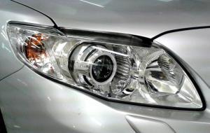 BiLed тюнинг фары Toyota Corolla 150 10-13 рестайлинг