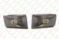 Светодиодные противотуманные фары Chevrolet Morimoto XB LED (SQUARE)