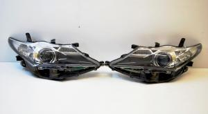BiLed тюнинг фары Toyota Auris 12-