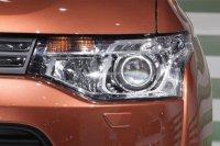 BiLed тюнинг фары Mitsubishi Outlander 12-