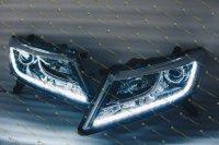 Изготовление и установка DRL стиль Audi в фары